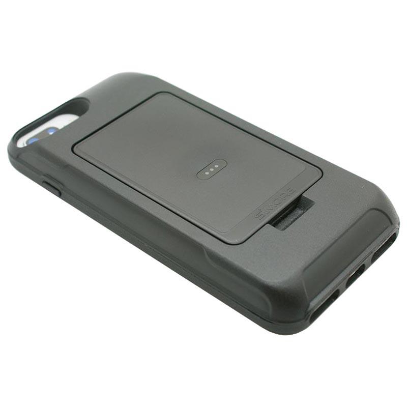 Coque pour iPhone 8 Plus, 7 Plus, 6S Plus, 6 Plus pour adaptateur E-Clips Triple Double carte SIM Bluetooth Wifi Hotspot sans fil