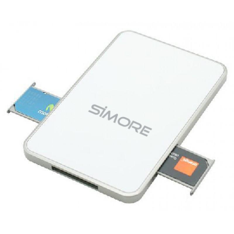 Triple BlueBox adaptateur double triple SIM Bluetooth pour iPhone et Android