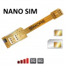 X-Twin Nano SIM Adaptateur double carte SIM pour smartphones nano sim