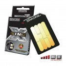 DualSim Platinum Adaptateur double carte SIM pour mobiles 3G