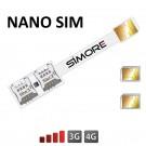 Speed X-Twin Nano SIM Adaptateur double carte SIM pour smartphones Nano SIM