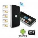 Power BlueBox Adaptateur multi SIM active pour iPhone et smartphones Android