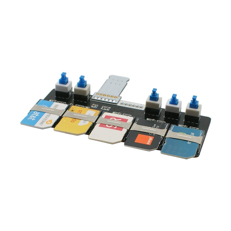 iPhone Multi-5SIM extension adapter tool