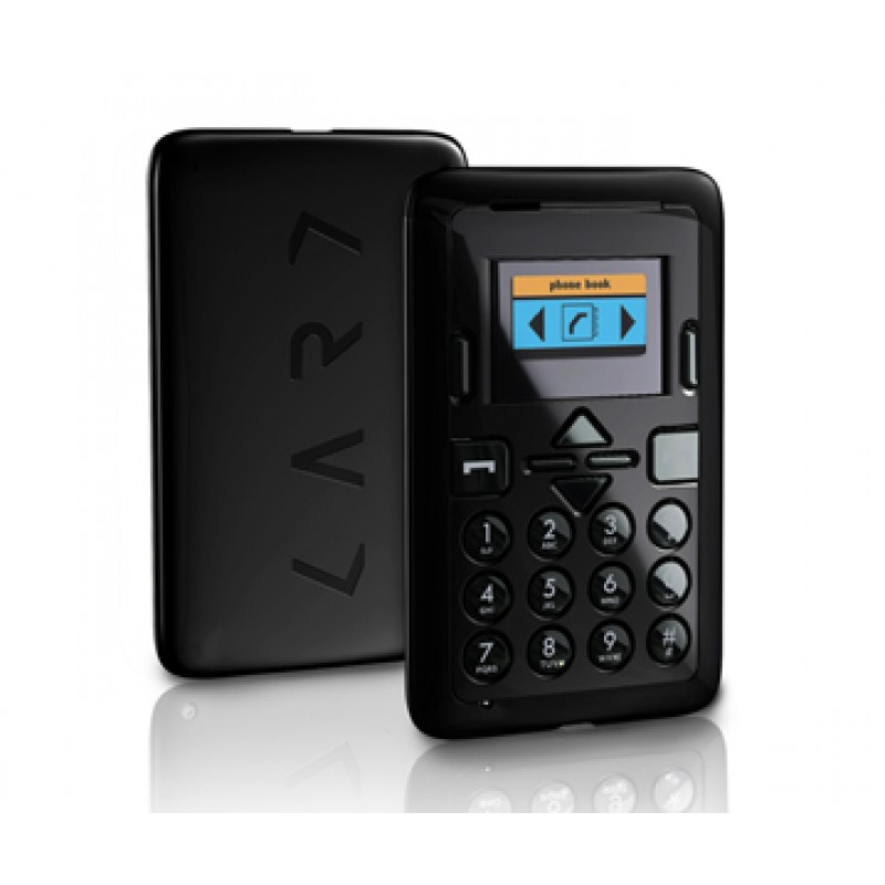 Mini Phone Black - Mini cell phone credit card sized mobile