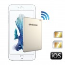 GoldBox Bluetooth Dual SIM active adapter for iPhone, iPad with 2 SIM cards active simultaneously