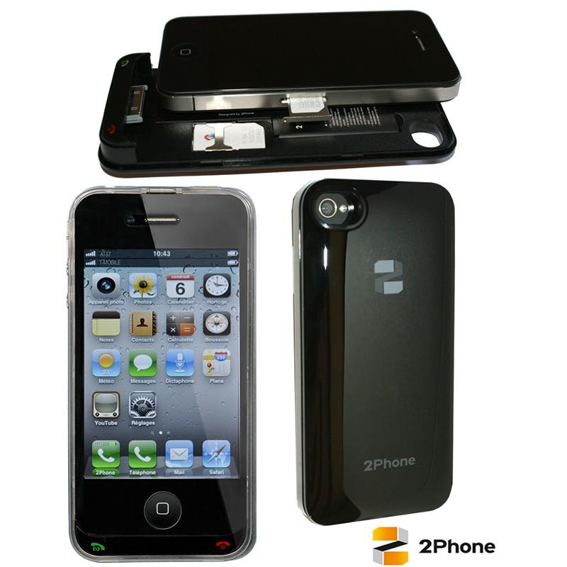 2Phone Doppel-SIM Kartenadapter für das iPhone