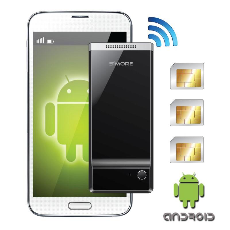 G2 BlueBox Dual und triple aktiv SIM karten adapter für smartphones Android