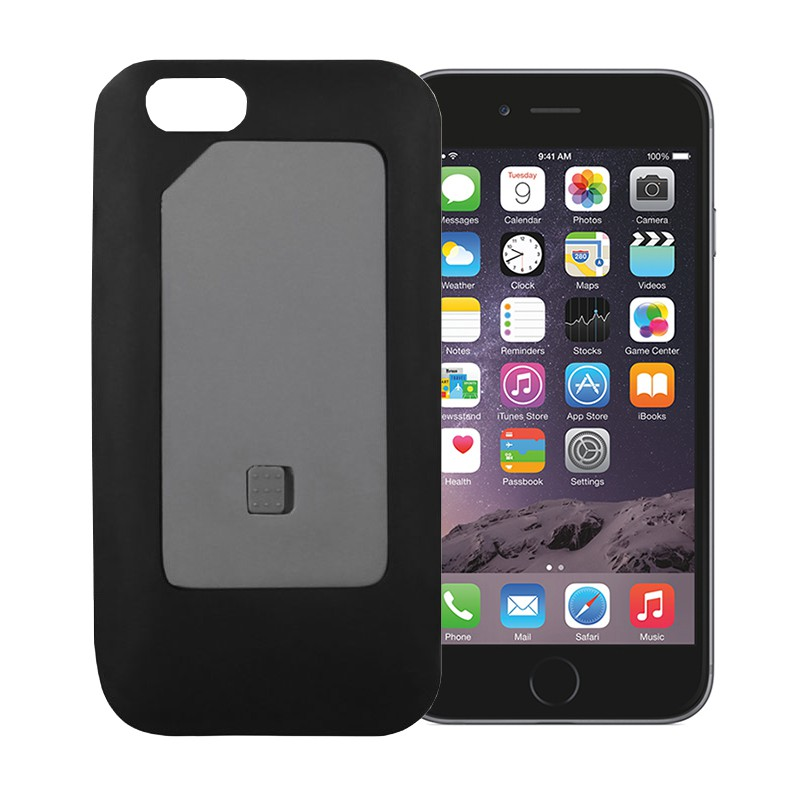 SIM2Be Case 6 Doppel SIM karte adapter 3G 4G für iPhone 6