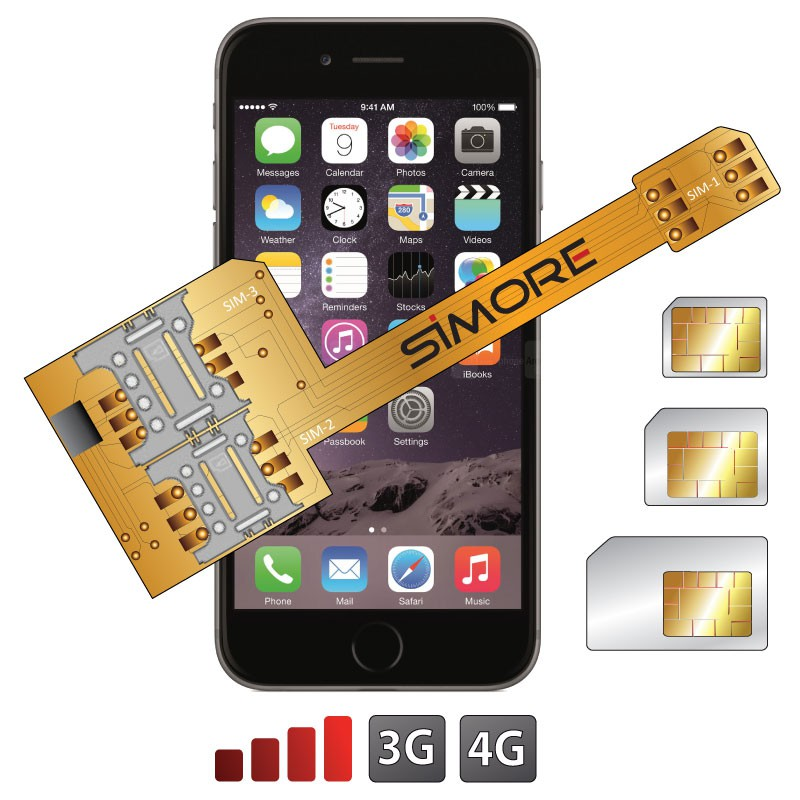 sim carte iphone 6 installer sim