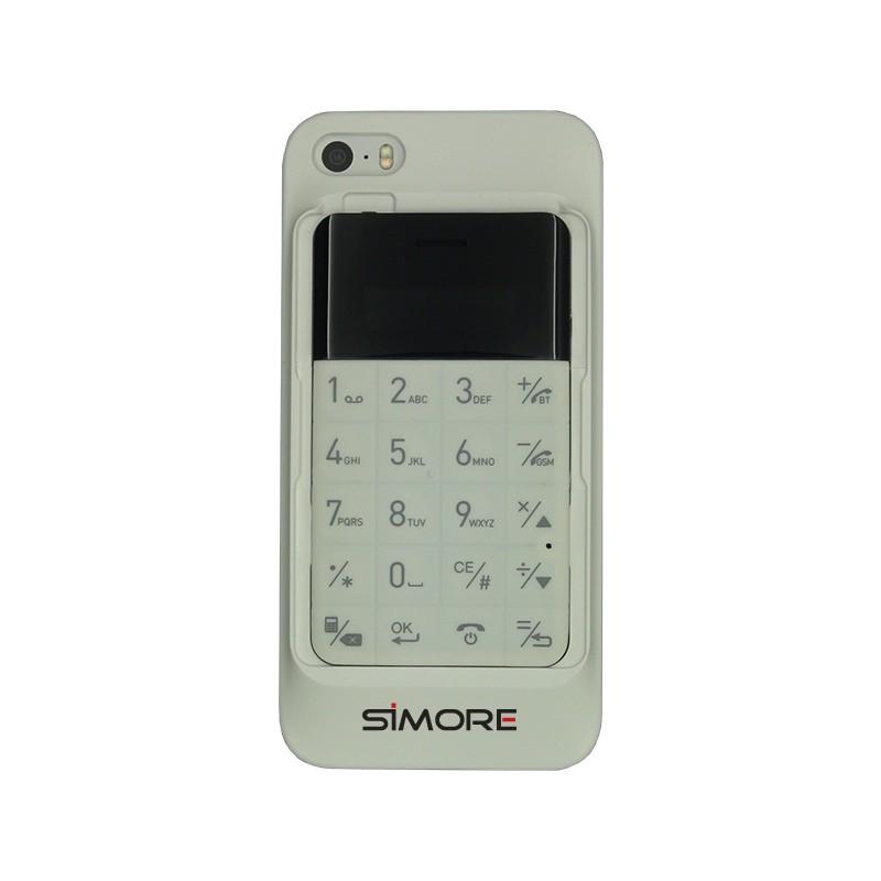 Talkase custodia doppia schede sim per iPhone 5 y 5S
