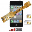 X-Twin 4 Adattatore doppia scheda SIM per iPhone 4 e iPhone 4S