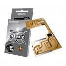 DualSim Silver 2 Adattatore Doppia scheda SIM per telefoni cellulari