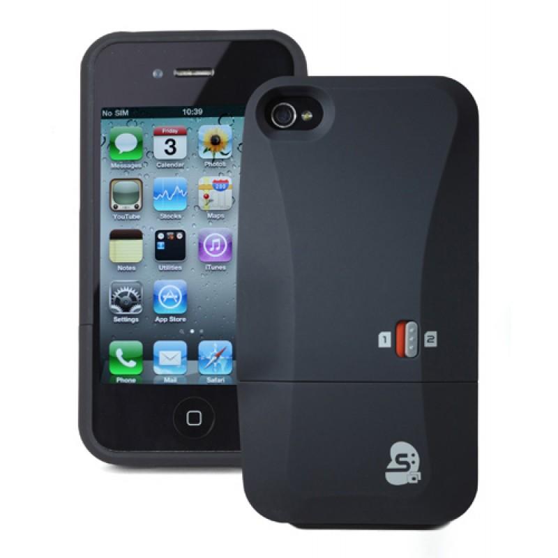 SIM2Be Case 4 Adaptador doble tarjeta SIM para iPhone 4 y iPhone 4S