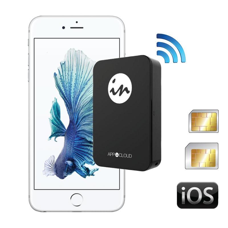 GoodTalk Adaptateur double SIM bluetooth actives pour Apple iPhone