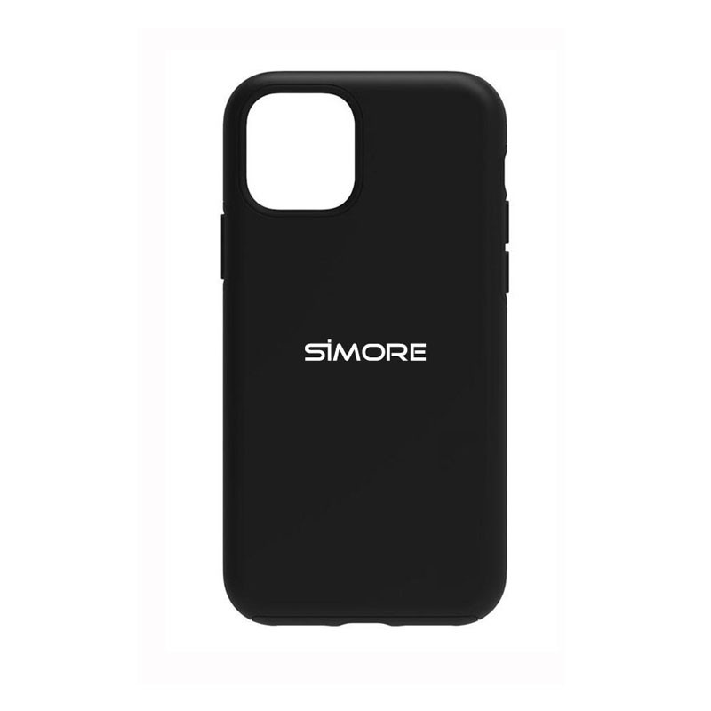 iPhone 12 Mini Coque de protection SIMore noire