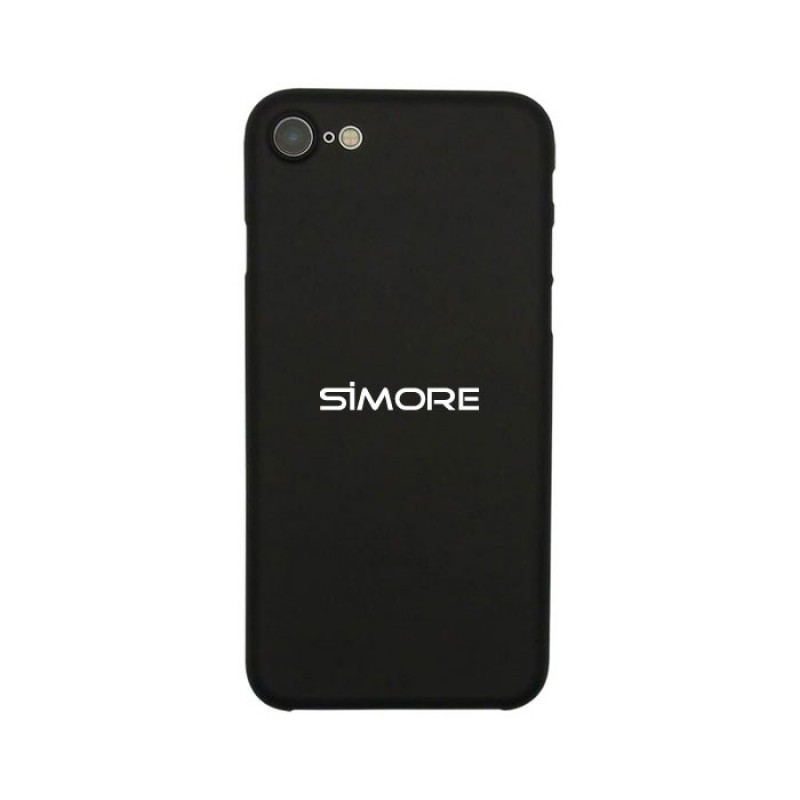iPhone SE 2020 Coque de protection noire SIMore