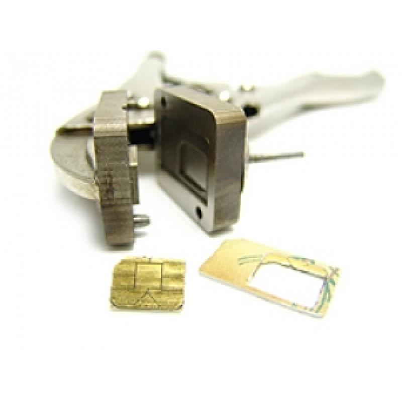 Pince de découpe pour cartes SIM