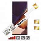 Double SIM Galaxy Note 20 Ultra Adaptateur SIMore