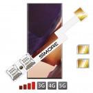 Double SIM Galaxy Note 20 Ultra Adaptateur SIMore