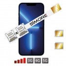 iPhone 13 Pro DUAL SIM Adaptateur SIMore Speed Xi-Twin 13 Pro