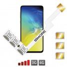 Galaxy S10e Adaptateur Triple Dual SIM Android pour Samsung Galaxy S10e
