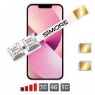 iPhone 13 Dual SIM Adaptateur SIMore Speed Xi-Twin 13
