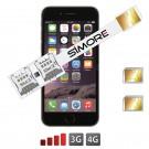 iPhone 6 Plus double SIM adaptateur Speed X-Twin 6 Plus pour iPhone 6 Plus