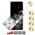 Galaxy S20 Ultra Adaptateur Multi Quadruple SIM SIMore