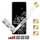 Galaxy S20 Ultra Adaptateur Triple Double SIM pour Samsung Galaxy S20 Ultra