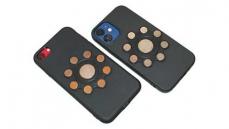 CellSnapp - Handy Halterung mit Magnet für iPhone und Android smartphone