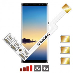Speed ZX-Triple Galaxy Note 8 Triple Dual SIM card adapter