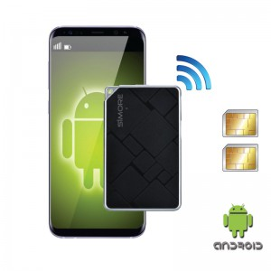 Bluetooth Dual SIM adapter Android with 2 phone numbers