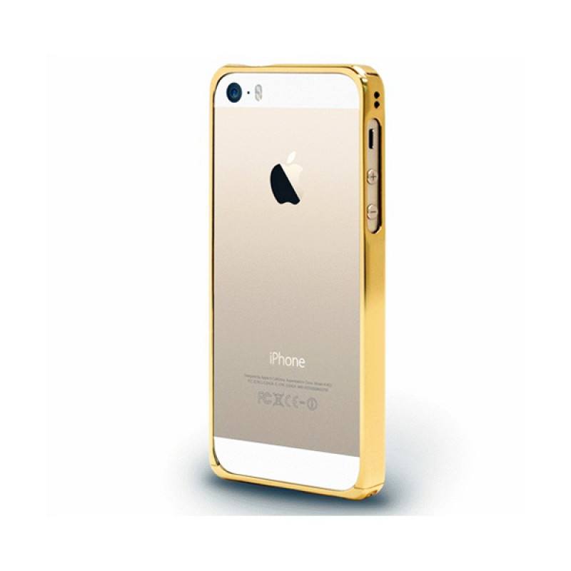 Protective bumper for iPhone SE, 5 and 5S Alloy X Champagne Gold