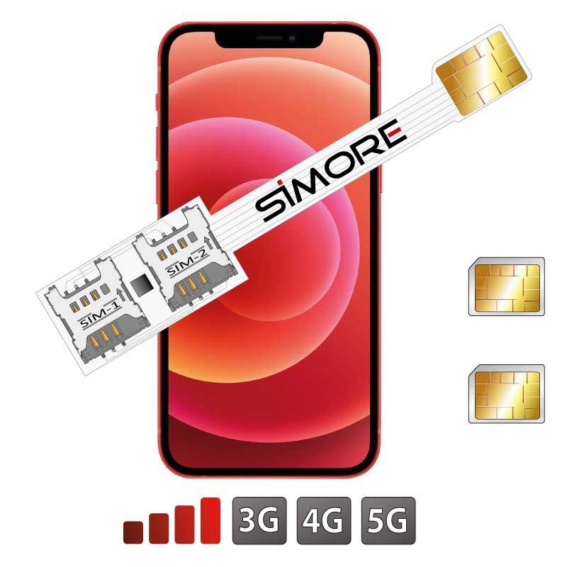 iPhone 12 Mini DUAL SIM Adapter