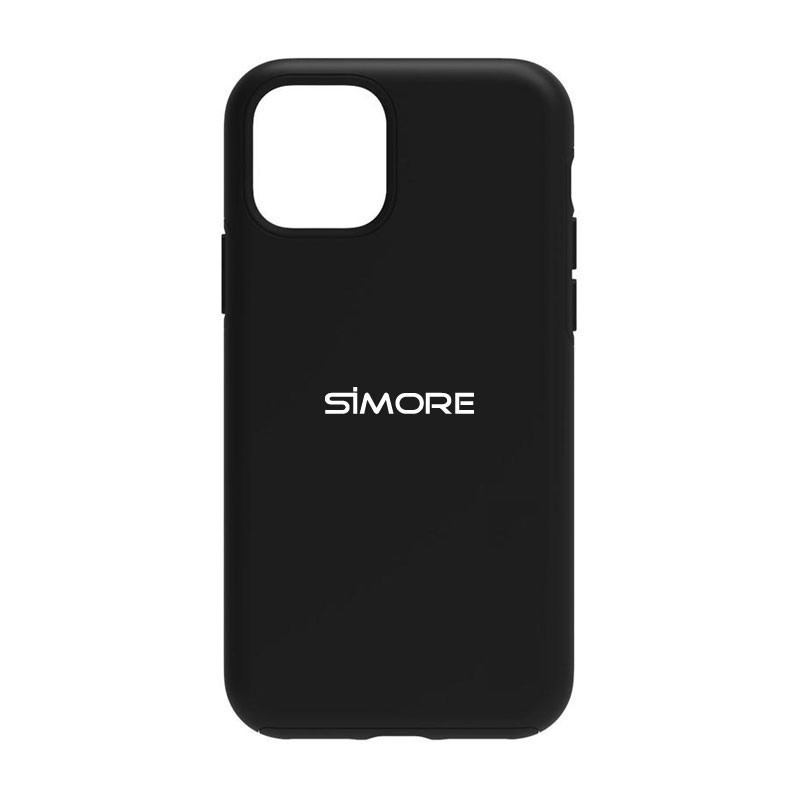 iPhone 12 Protection case black SIMore