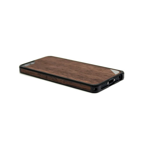 Alloy X Wood Black - Protective shockproof bumper case for iPhone ...