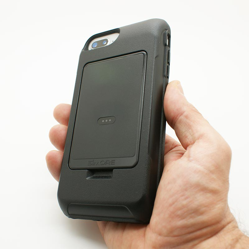 custodia dual sim iphon 8 plus