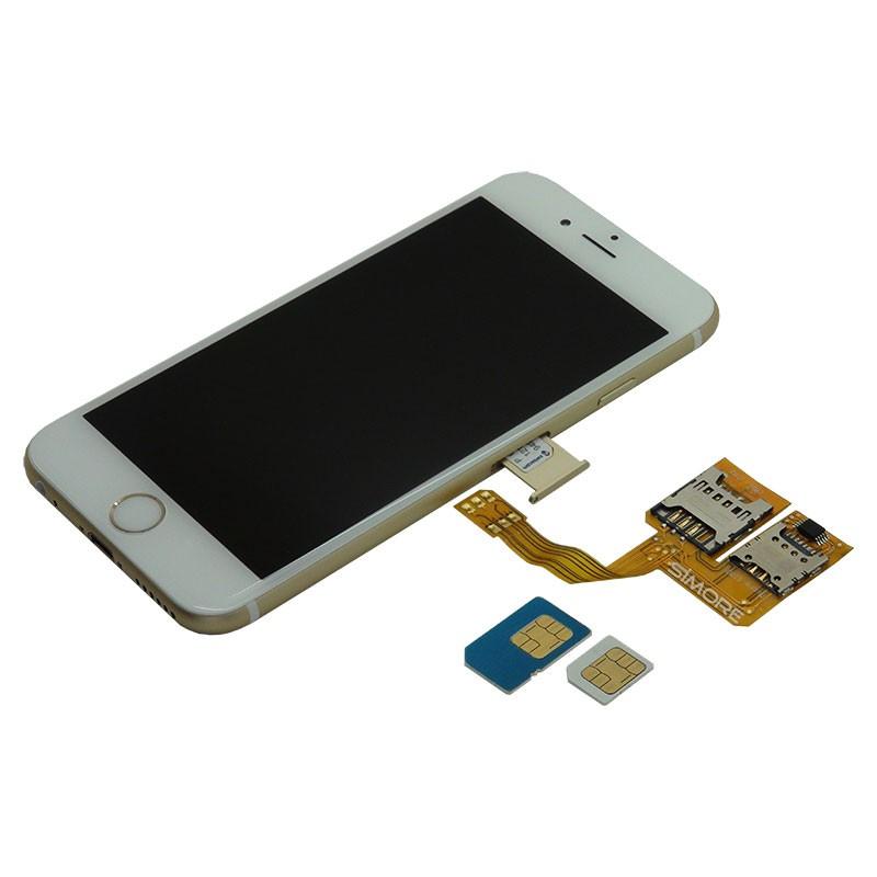 X Triple 6 Triple Dual SIM For IPhone 6 Triple Dualsim