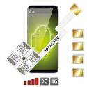 Speed ZX-Four Nano SIM
