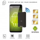 Dual SIM Android Bluetooth Active Adapter Simultaneously Wi-Fi router MiFi cellular Multi-SIM