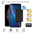 iPhone Dual SIM Bluetooth Active Adapter Wifi wireless router MiFi Hotspot E-Clips Box