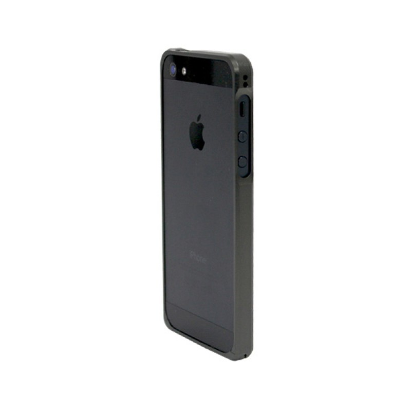 Protective bumper for iPhone SE, 5 and 5S - Alloy X Black