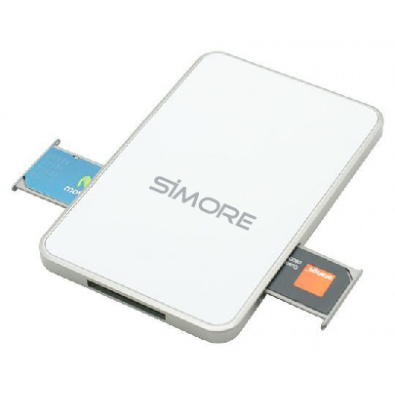 Dual SIM adapter Bluetooth converter Android und iPhone 2 oder 3 SIM Karten simultan aktiv