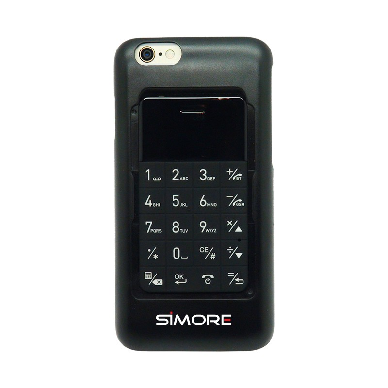 Talkase doppel sim karte adapter schutzhülle bluetooth für iPhone 6 und 6S
