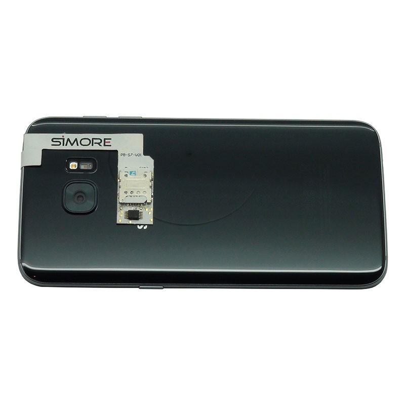 Samsung Galaxy S7 Welche Sim Karte.Zx Twin Galaxy S7 Edge Schutzhülle Doppel Sim Karten Adapter Für