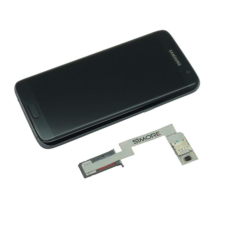 Samsung Galaxy S7 Edge Sim Karte.Zx Twin Galaxy S7 Edge Schutzhülle Doppel Sim Karten Adapter Für