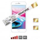 iPhone 8 Plus Doppel SIM adapter Speed-X-Twin 8 Plus für iPhone 8 Plus