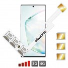 Galaxy Note 10+ Dreifach SIM karte adapter SIMore Speed ZX-Triple Note 10+