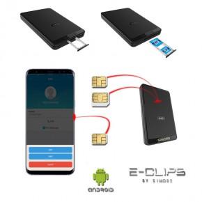 Wlan Router Sim Karte.E Clips Gold Android Doppel Sim Bluetooth Adapter Quadband