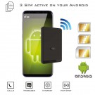 Android Dual SIM Bluetooth Adattatore e MiFi router WiFi per Android OS